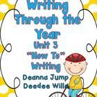 $ Writing Through the Year Unit 3 - Writer's Workshop is a wonderful way to incorporate all of the ELA standards while introducing your students to the love of writing. This best prac...
