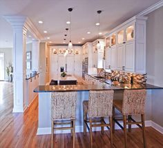 White Kitchen Designs Photo Gallery kitchen design ideas with island | home decorating ideas