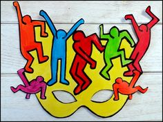 Keith Haring, Ecole Art, Art Club, Art Plastique, Tour, Bowser, Animation, Miro, Carnival Ideas