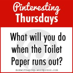 Pinteresting Thursday – How to Find, Purify and Store Water | Mom With a Prep Blog - Helping Prepare Families