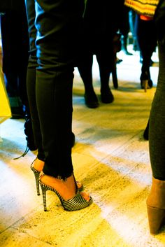 My kind of party, everyone in heels!!