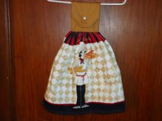 Check out this item in my Etsy shop https://www.etsy.com/listing/247270324/chefbaker-kitchen-towel-with-homemade