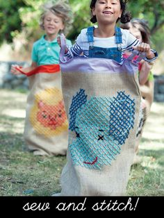 New embroidery book by Penguin & Fish: Sew & Stitch Embroidery.  Love the oversized stitching!