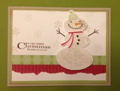 Stampin' Up!  Snow Day. Nicole Notch.