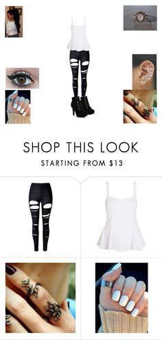 """""""The end of the affair #2"""" by sara598d on Polyvore featuring WithChic, River Island and Joëlle Jewellery"""