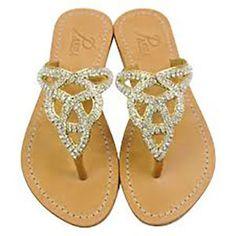 4b70899d6b59 Pasha-Tahiti-Czech-Rhinestones-on-Gold-Leather-Womens-Sandals