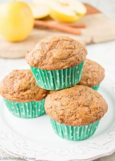 These delightfully soft and moist muffins are loaded with fruits and veggies, yet you would never know they were healthy because they are wickedly delicious