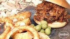 ساندويتش لحم الضأن المسحب