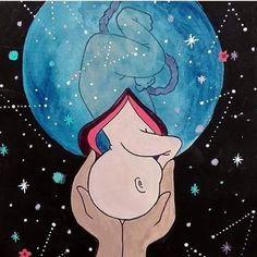 Dépassement de terme 📅 – PachaMaman Pregnancy First, Pregnancy Early Doula, Pregnancy Art, Early Pregnancy, Pregnancy Workout, Birth Art, Mother Art, Medical Art, Midwifery, Anatomy Art
