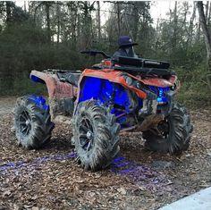 DIRTY CAN AM Can Am Atv, Quad, Mercedes Benz Unimog, Atv Four Wheelers, Buggy, Dirtbikes, Outdoor Toys, Trail Riding, Atvs