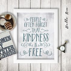 People Often Forget That Kindness Is Free By Helloam Wedding Vow Artfunny Vowswedding Love Quoteswedding Guest Bookfunny