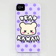 DEAD KAWAII - The 2D Deaddy Bear  iPhone  iPod Case