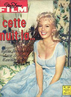 Cette Nuit LA Mylene Demongeot ET Jean Servais 1959 Nous Deux Film | eBay