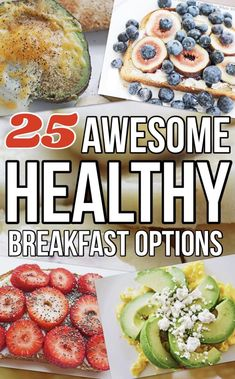 Need healthy breakfast options for your clean eating diet plan? Get Best Clean Eating Recipes' easy healthy breakfast ideas! They're clean, quick and delicious! Clean Eating Diet Plan, Easy Clean Eating Recipes, Healthy Diet Recipes, Healthy Recipes For Weight Loss, Healthy Breakfasts, Whole Food Recipes, Healthy Snacks, Healthy Eating, Eating Well