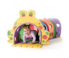 Kids Play Tunnel - Clarke Rubber :) SO COOL. Paislee will have one of these! Kids Play Tunnel, Bailey Madison, Play Rooms, Toy Boxes, Cool Toys, Kids Playing, Ministry, Claire, Kids Room
