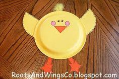 Adorable Paper Plate Easter Chicks Easter Inspiration Of Paper Plate Easter Crafts for Preschoolers Duck Crafts, Bird Crafts, Bunny Crafts, Animal Crafts, Rainy Day Crafts, Spring Crafts For Kids, Paper Plate Crafts, Paper Plates, Tapas