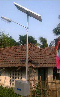 Providing Solar Light System at Village Ghotaru in AOR of 161 Bn BSF under SHQ BSF JSMR S