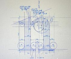 letters as blueprints