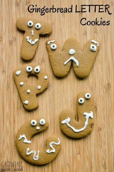 Make a batch of ABC Gingerbread Cookies with the kids and build literacy skills at the same time.  Which yummy letter cookie will you eat first?