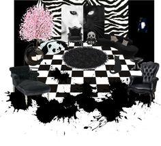Teen emo bedroom decorating ideas for girls emo room for Emo bedroom furniture