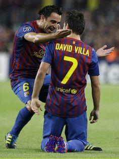 """Xavi Hernandez & David Villa #barca David Villa: """"Wil je met me trouwen?"""" Xavi Hernandez: """"Ja, ik wil!"""""""