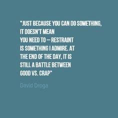15 citazioni sulla creatività dalle leggende dell'advertising - David Droga