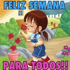 Buena Semana imagen #7541 - Feliz Semana Para Todos!! - Feliz Semana, Flores, Niña. Imágenes y fotos de 'Buena Semana' con frases para facebook, whatsapp y twitter.
