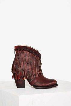 Freebird x Steven Tonto Leather Fringe Boot - Sale : Boot Camp