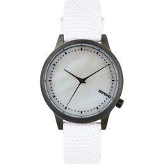 Komono Estelle Monte Carlo Watch ($100) ❤ liked on Polyvore featuring jewelry, watches, komono watches and komono