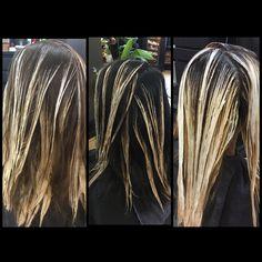 #balayage #paintedhair #hairpainting #kevinmurphy #athensga #uga #pageboysalonathens @pageboysalonathens