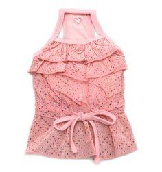 pink puppy dress