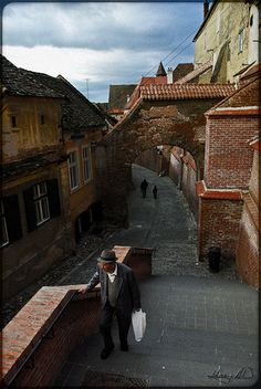 Pasajul Scarilor - in Sibiu city.