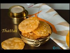 Thattai is a authentic and traditional SouthIndian crispy snack. We make thattai…
