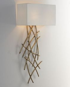 Abstract Wall Sconce by John-Richard Collection at Neiman Marcus.