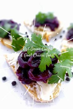 Sweet Red Onion Confit with Red Wine