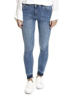 Whether you're looking for boyfriend jeans or casual trousers, this is place for you! Shop our selection of trousers here! Leggings Style, Leggings Fashion, Dl 1961, Skinny Ankle Jeans, Trousers, Pants, Boyfriend Jeans, Denim Jeans, Casual