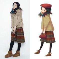 ArtStation - girls, Joy Zhou