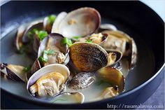 Steamed+Asari+(Manila)+Clam+Recipe