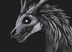 ((Open rp, be a human)) I turn to you, my frightening face doesn't seem to scare you away. I slowly walk up to you my claws scrap the ground as I walk