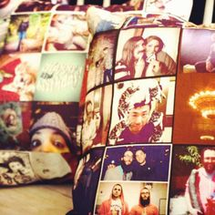 instagram photo pillows