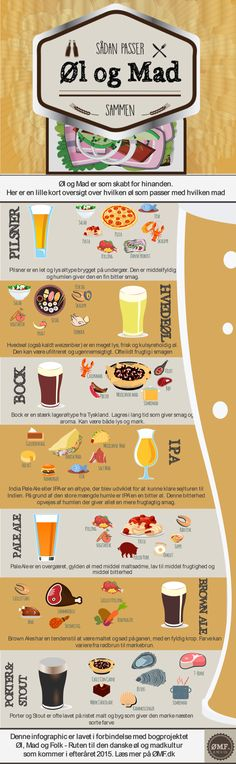 Sådan passer øl og mad sammen