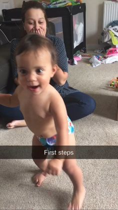 Damo - My fleeting moment is my nieces first steps.