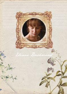 Austen Heroines: Hattie Morahan, Elinor Dashwood - Sense & Sensibility directed by John Alexander (TV Mini-Series, BBC, 2008) #janeausten