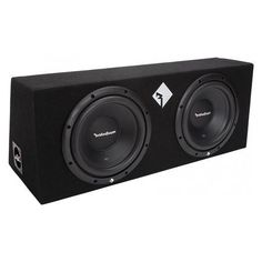 New Rockford Fosgate 800 Watts Dual Loaded Subwoofer Sub Enclosure, Black Cheap Car Audio, Subwoofer Box, Car Audio Systems, Rockford Fosgate, Car Amplifier, Black Carpet, All In One, 1 Year, Sensitivity