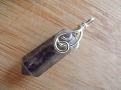 Drilled Amethyst Point Deep Dark Purple Wire by OurBackYard, $10.00