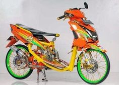 20 Best Modifikasi Motor Mio Soul Images Yamaha Scooter