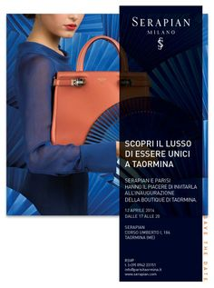 Un invito speciale sabato 12/04 dal The Best Shops Parisi - Taormina & Serapian!