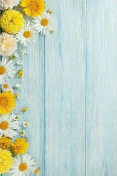 Garden flowers over wooden background stock photo - Backgrounds unsorted - Pretty Backgrounds, Flower Backgrounds, Photo Backgrounds, Wallpaper Backgrounds, Iphone Wallpaper, Wooden Background, Background Pictures, Screen Wallpaper, Flower Wallpaper