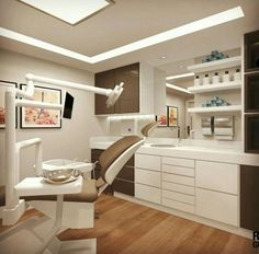 Unruly Dental Implants Before And After Success Story Doctors Office Decor, Dental Office Decor, Medical Office Design, Healthcare Design, Dental Cabinet, Cabinet Medical, Clinic Interior Design, Clinic Design, Office Waiting Rooms