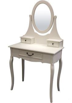 #Möbel #Landhausstil #Schminktisch Shabby Chic, Vanity, Furniture, Home Decor, Yurts, House Styles, Deco, Dressing Tables, Powder Room